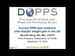 Interdialytic weight gain and patient outcomes in the DOPPS