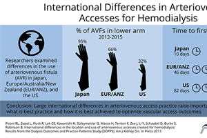 Successful use & placement of arteriovenous fistula (AVF) vascular accesses: US AVF placement trend of concern