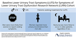 Describing patients seeking care for lower urinary tract symptoms